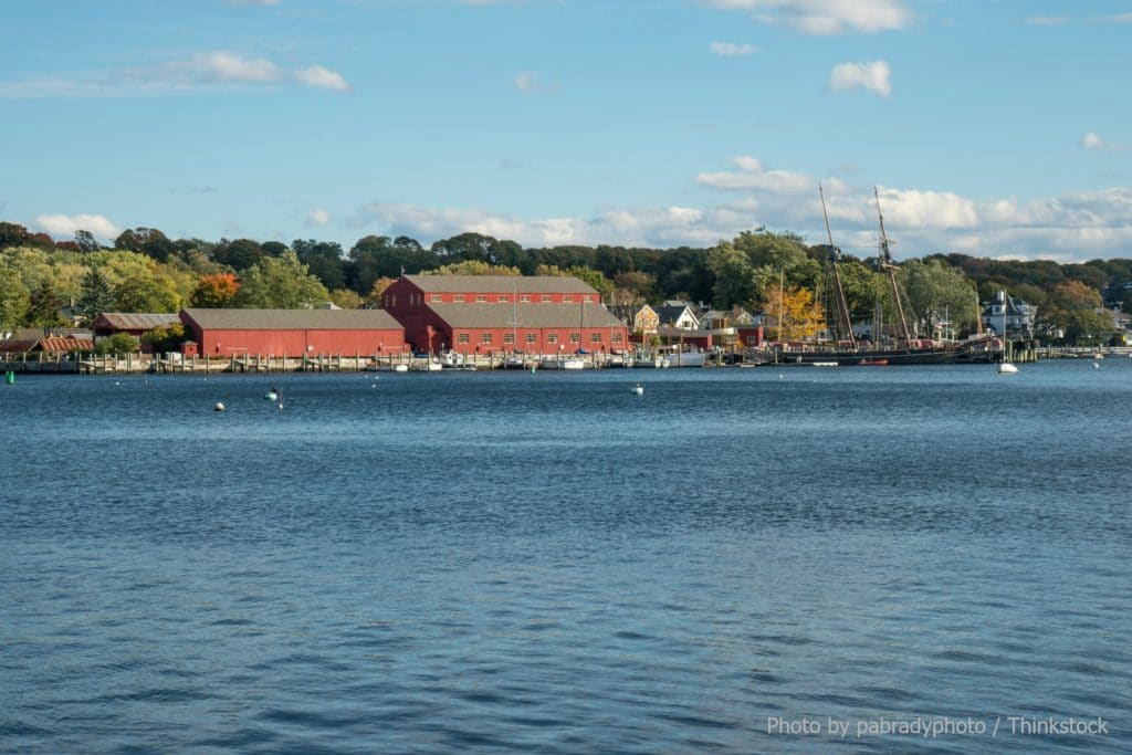 Mystic Seaport is One of the Many Connecticut Historical Sites