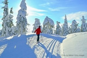 cross country skiing CT
