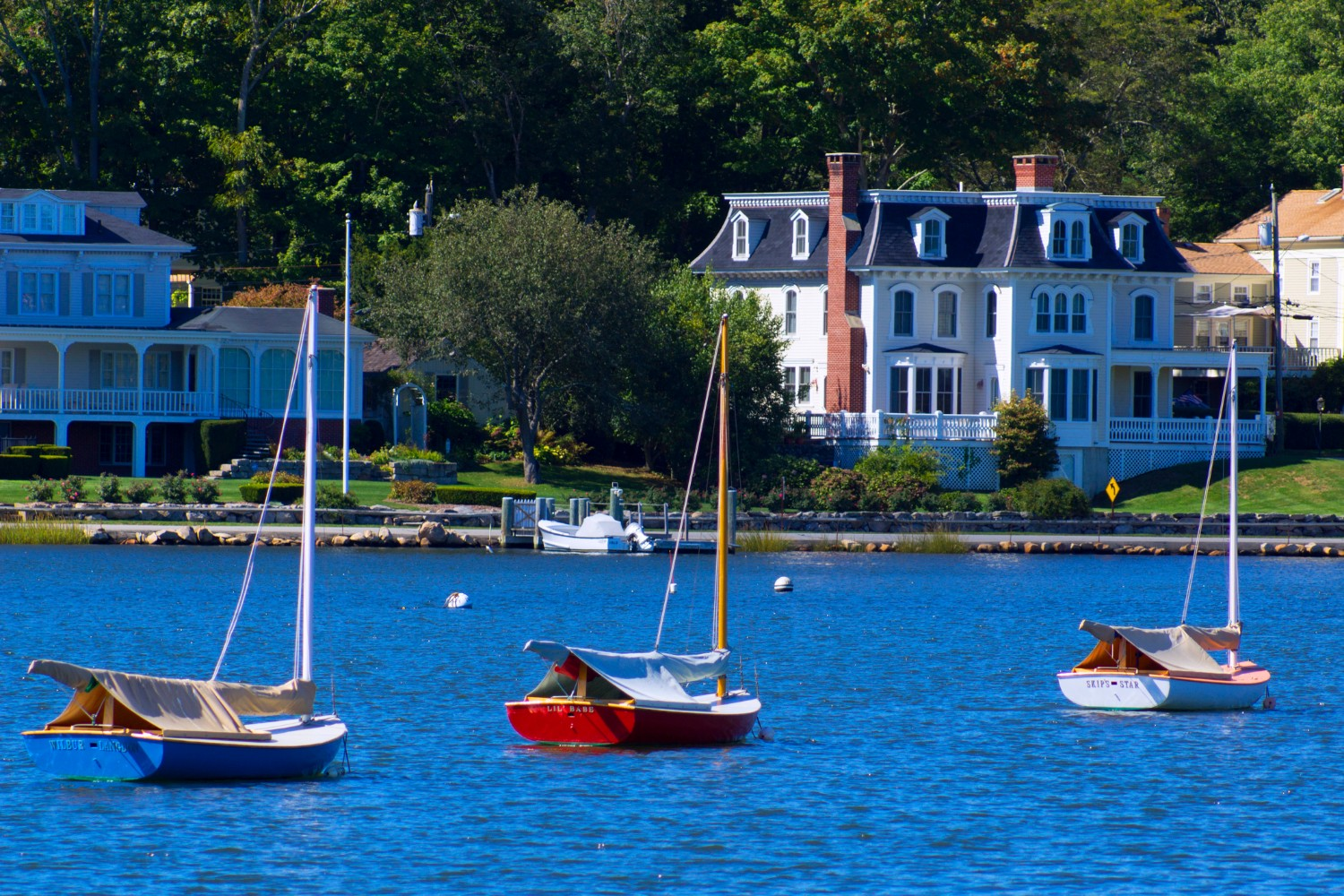 View from the water of Stonington, CT - Things to do in Stonington, CT